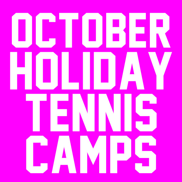 October Tennis Camps