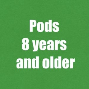 Pods Thursday 1st - Friday 2nd April